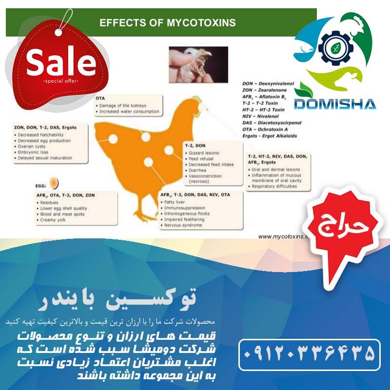 انواع آفلاتوکسین